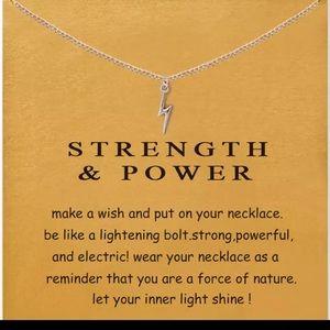 Jewelry - Lightning bolt necklace